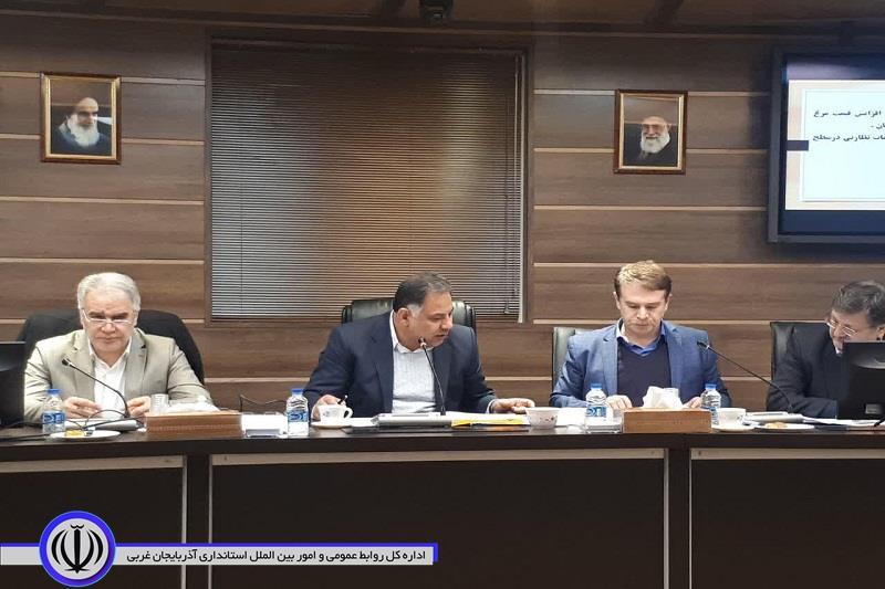 با حضور معاون هماهنگی امور اقتصادی و توسعه منابع استاندار جلسه فوق العاده کارگروه تنظیم بازار آذربایجان غربی برگزار شد