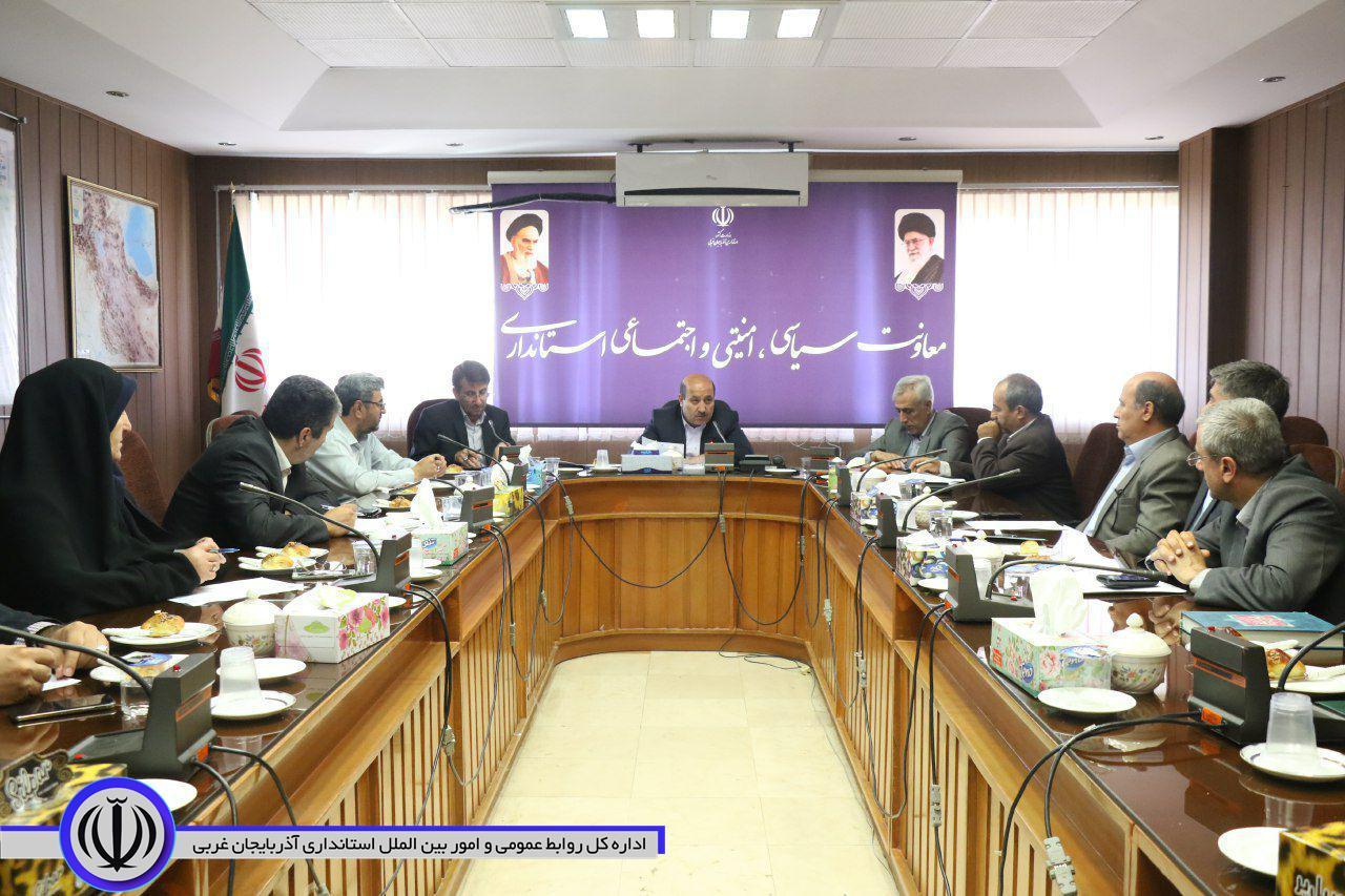 نخستین جلسه هماهنگی ستاد اربعین حسینی استان در سالجاری برگزار شد