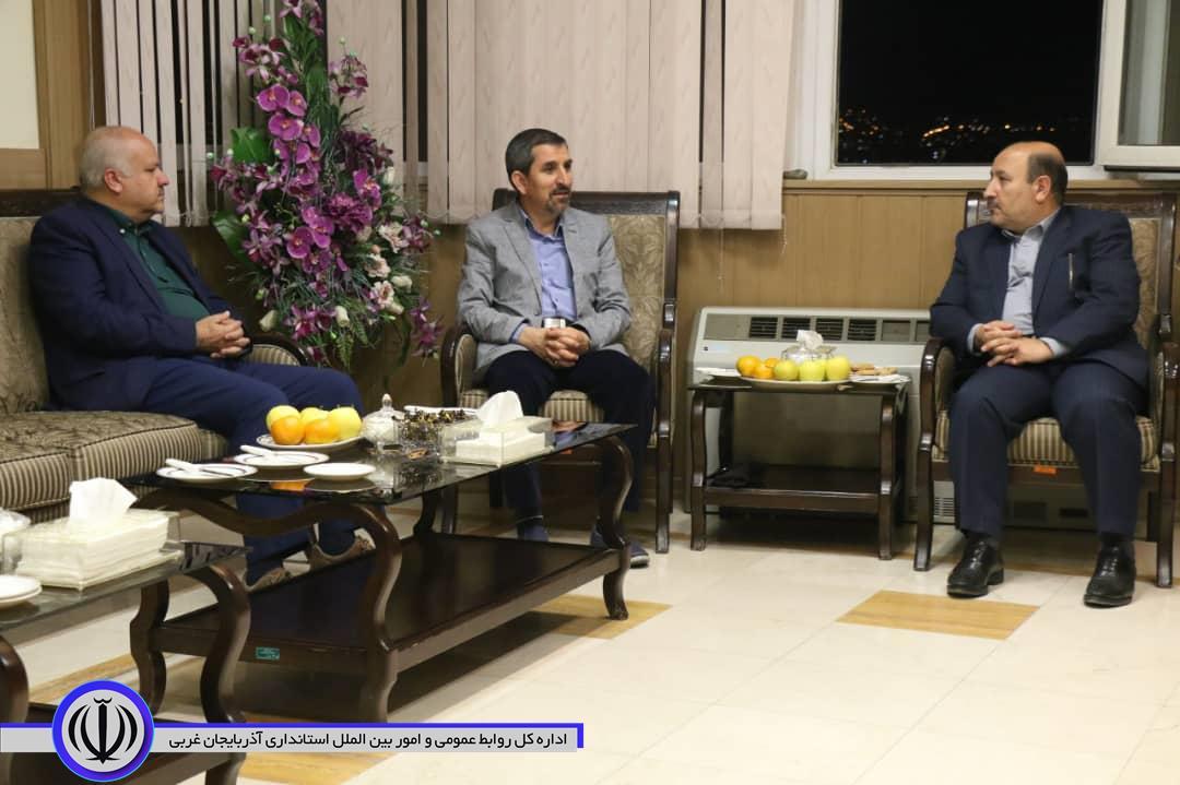 دیدار سرکنسول جمهوری اسلامی ایران در نخجوان با معاون سیاسی امنیتی اجتماعی استاندار آذربایجان غربی