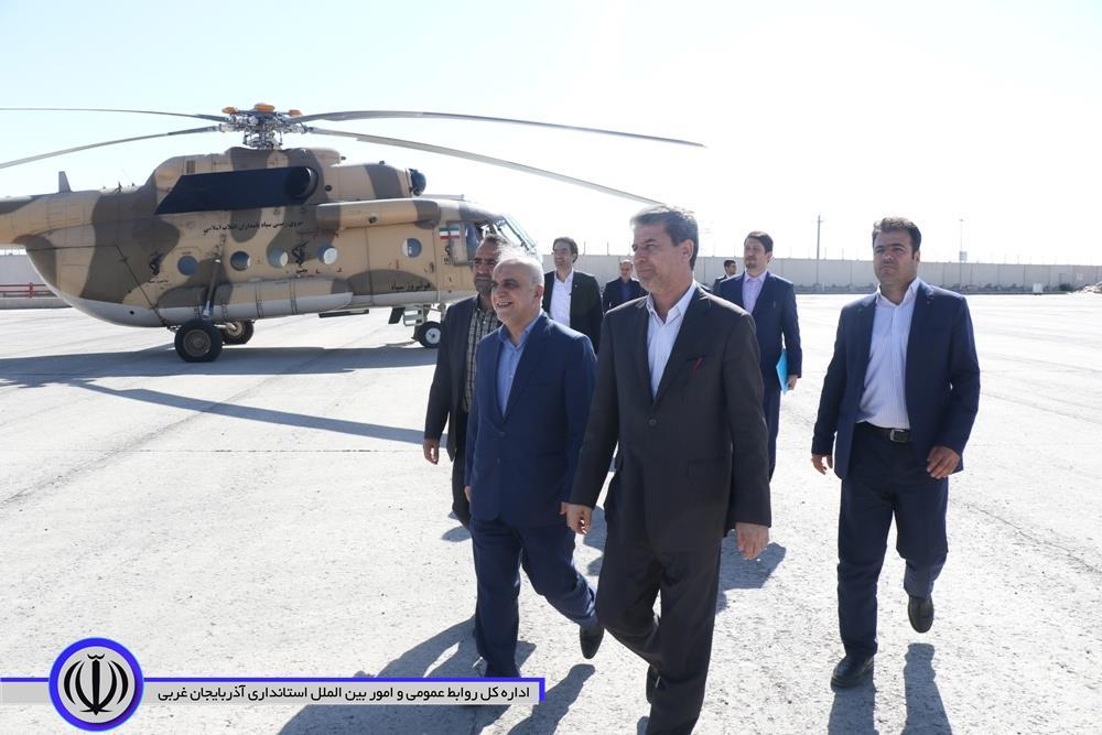 آلبوم تصویری/ سفر وزیر امور اقتصادی و دارایی به آذربایجان غربی- 98.6.5
