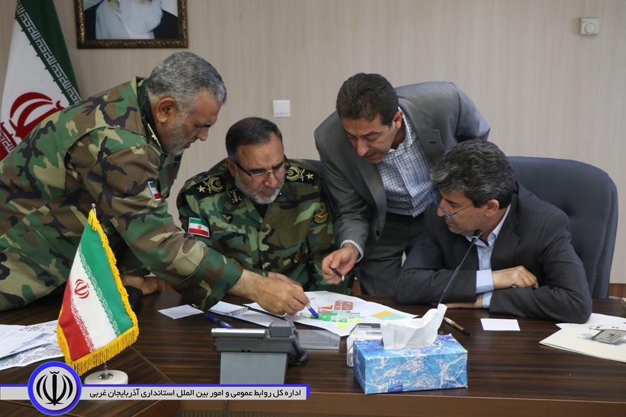 جلسه ساماندهی طرح و اجرای اراضی پادگان لشکر64 ارومیه برگزار شد