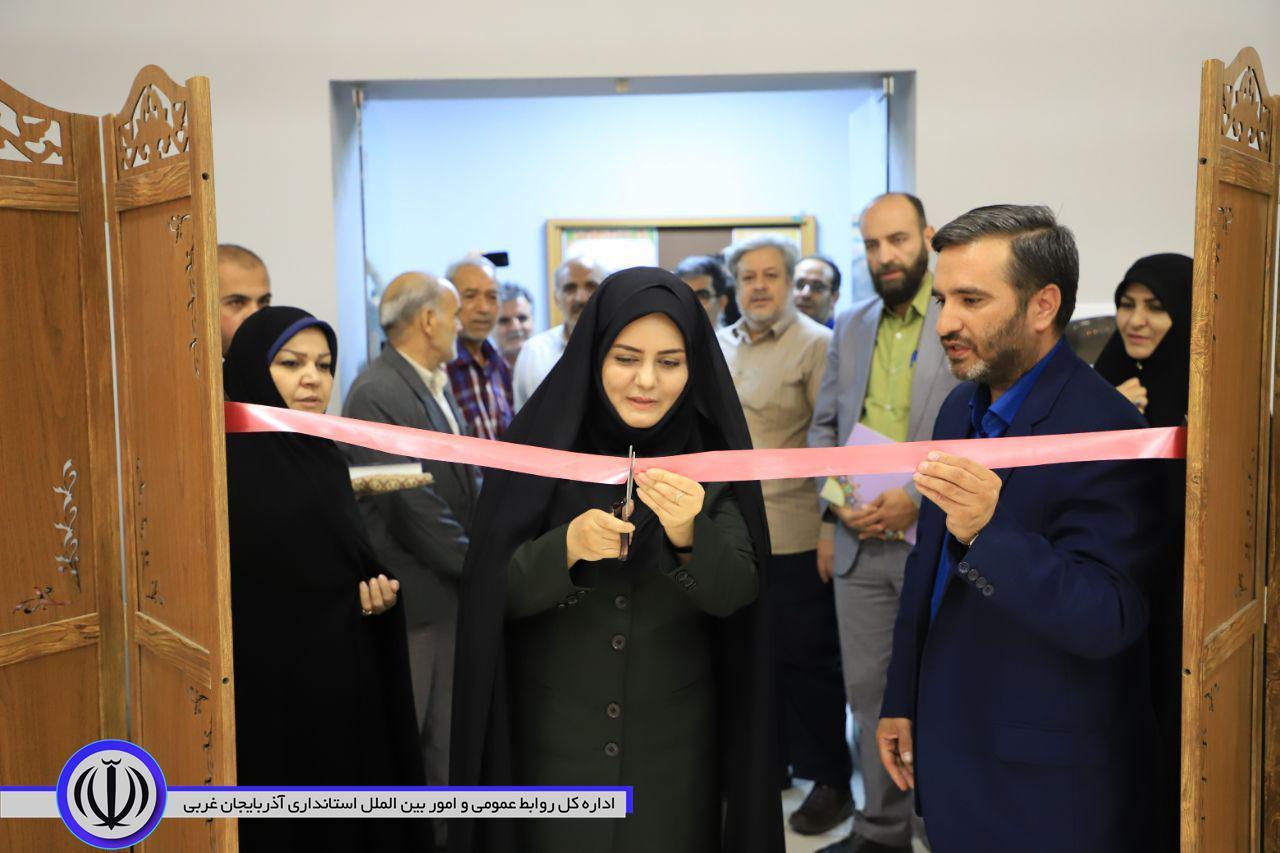 افتتاحیه  نمایشگاه هنرواره ملی انقلاب اسلامی، روایت ایرانی