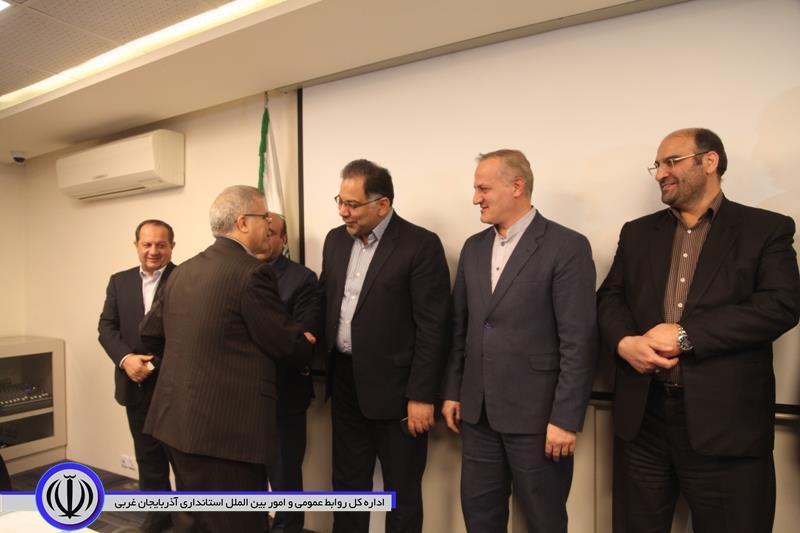 آیین معارفه مدیرکل جدید امور مالیاتی آذربایجان غربی برگزار شد