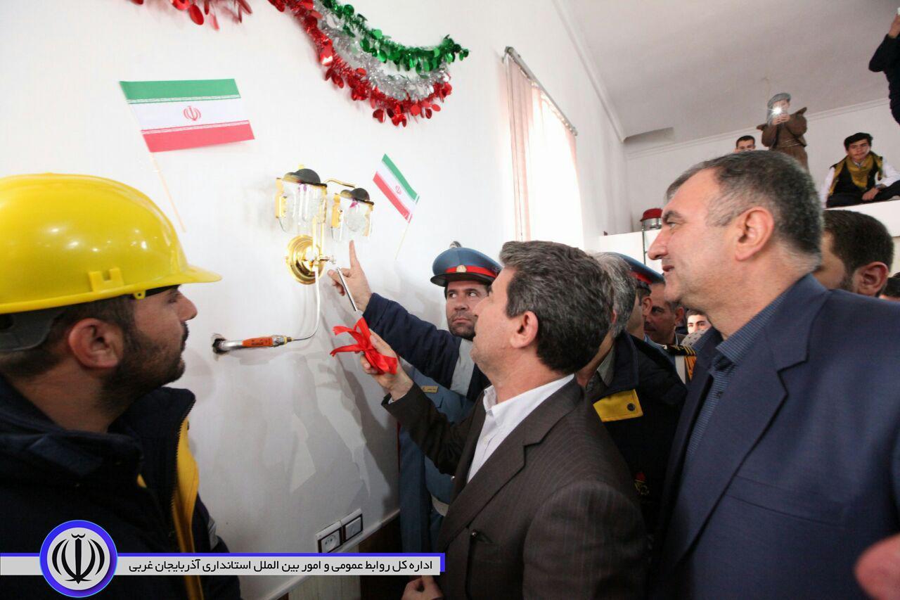 آیین افتتاح و بهره برداری از پروژه های گازرسانی ارومیه با حضور استاندار آذربایجان غربی