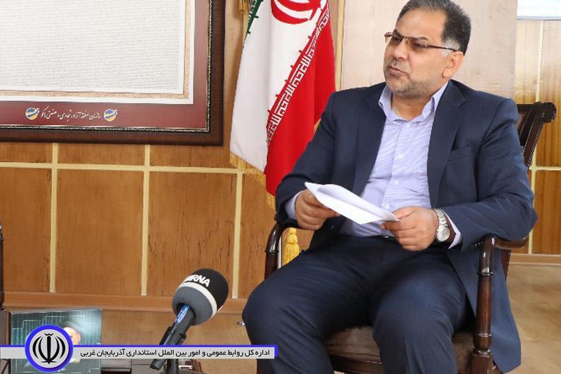 معاون استاندار آذربایجان غربی: انقلاب اسلامی ایران با اقتدار کامل به راه خود ادامه می دهد