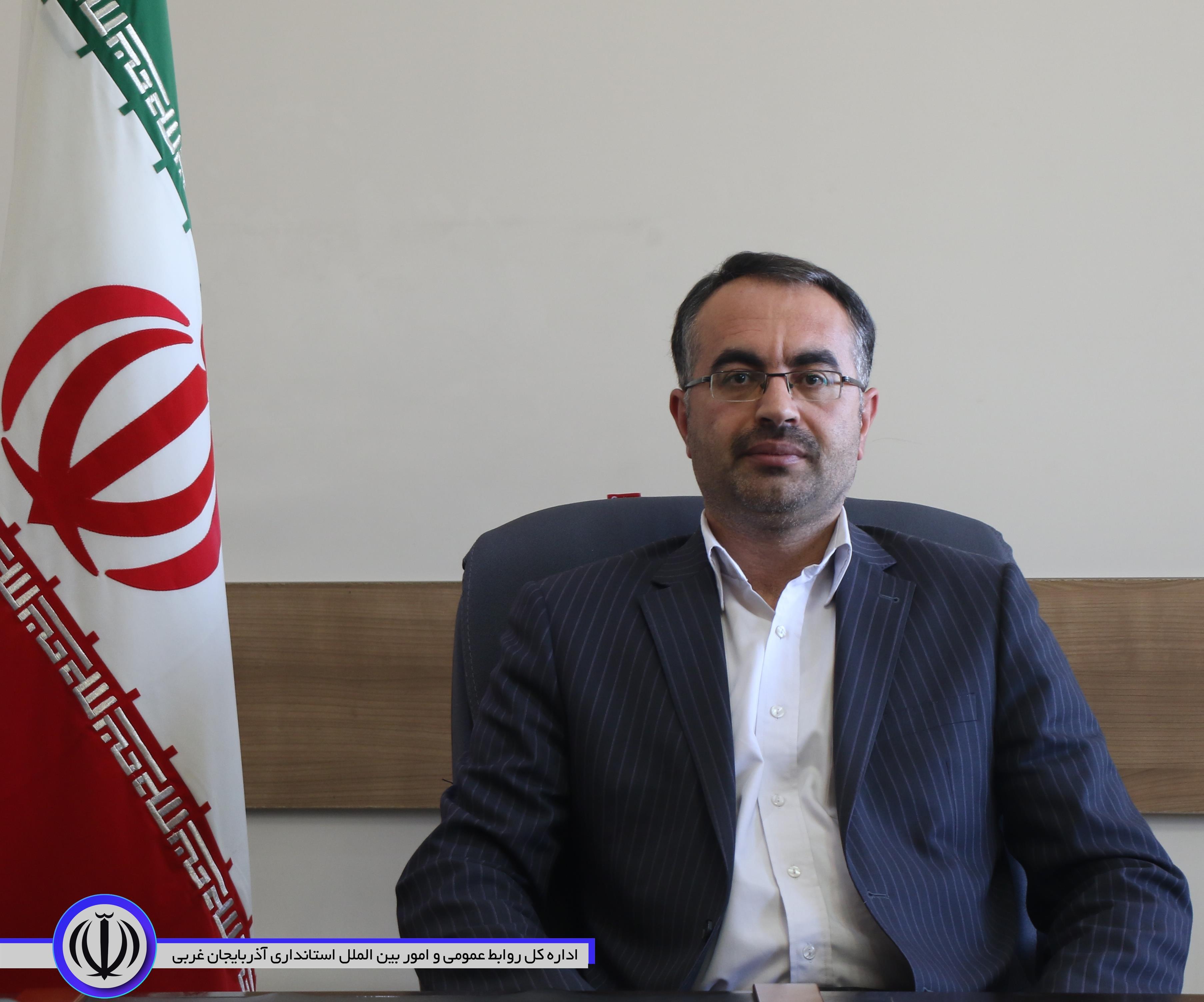 انتصاب مدیرکل بازرسی ، مدیریت عملکرد و امور حقوقی استانداری آذربایجان غربی