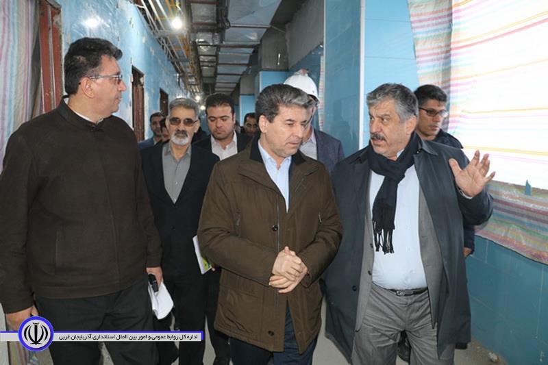 استاندار: امسال 1000تخت بیمارستانی در آذربایجان غربی بهره برداری می شود