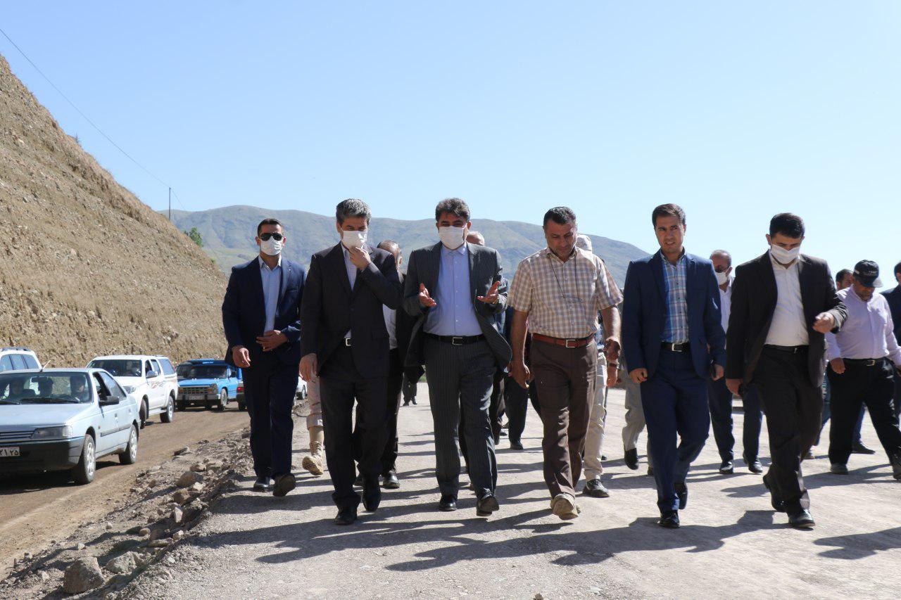 آلبوم تصویری / سفر استاندار آذربایجان غربی به شهرستان خوی