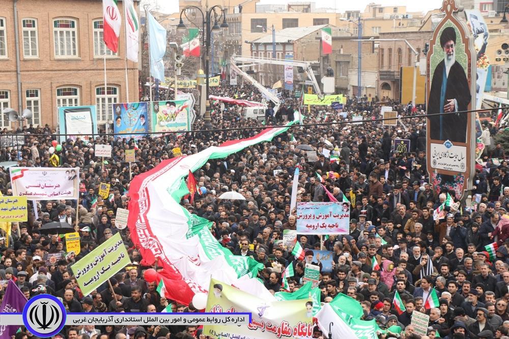 آلبوم تصویری/ راهپیمایی یوم الله 22 بهمن ارومیه ( شماره 2)