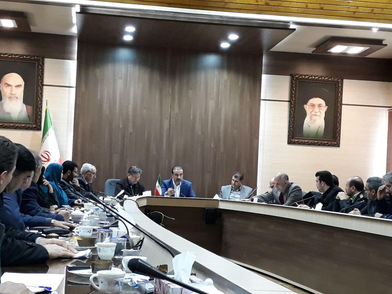 برگزاری جلسه شورای ساماندهی مبادلات مرزی به ریاست معاون هماهنگی امور اقتصادی استاندار آذربایجان غربی