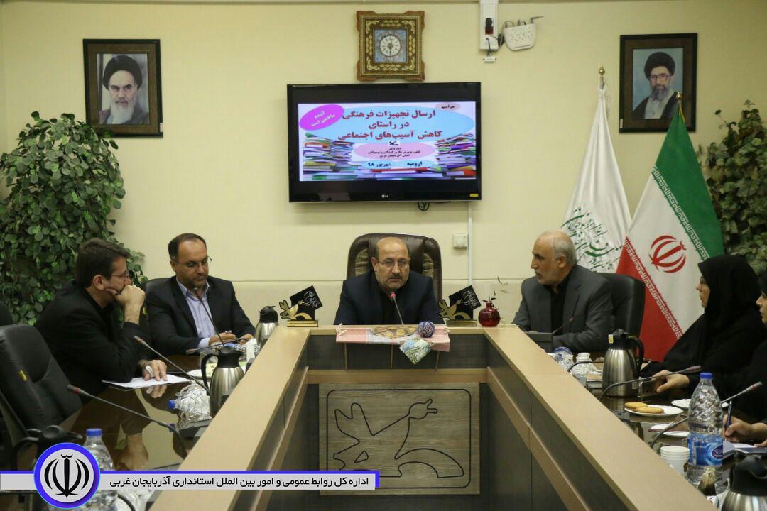 ارسال تجهیزات فرهنگی کانون پرورش فکری کودکان و نوجوانان به مناطق مختلف استان