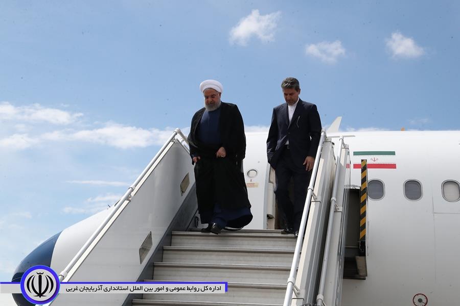 آلبوم تصویری / سفر یکروزه  دکتر روحانی رییس جمهور ایران اسلامی به شهرستان ماکو