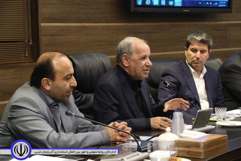 انصاری از تلاش های توسعه محور استاندار آذربایجان غربی قدردانی کرد