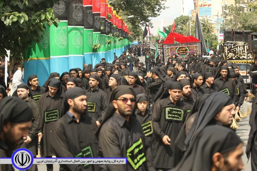 آلبوم تصویری / مراسم عزاداری تاسوعای حسینی در ارومیه
