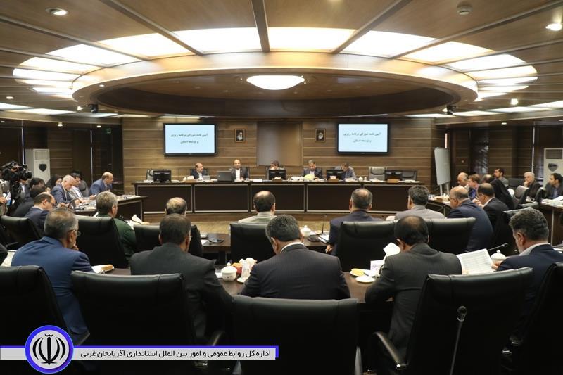 آلبوم تصویری/ سومین جلسه شورای برنامه ریزی و توسعه استان- 23 تیر 98