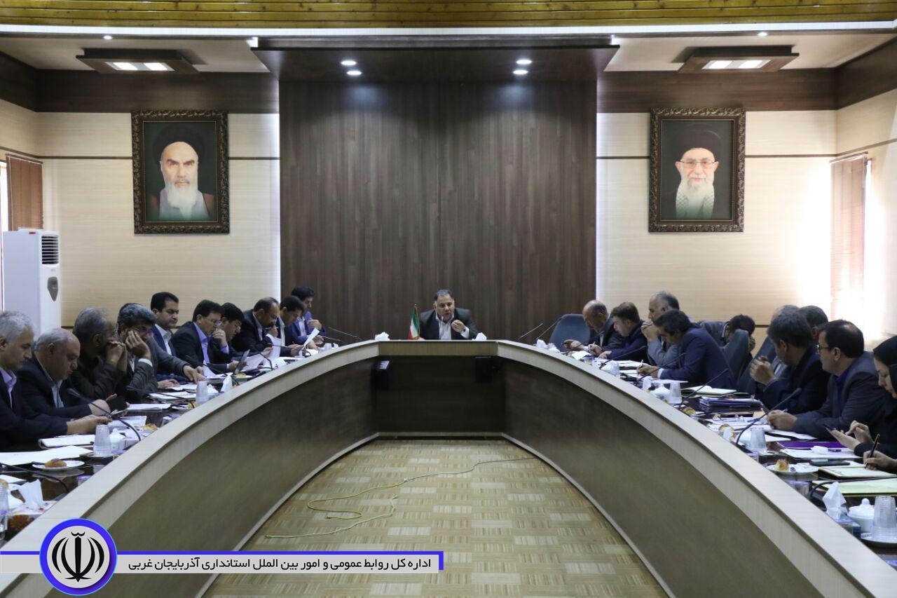 نخستین جلسه ستاد توسعه شهرستان تکاب تشکیل شد