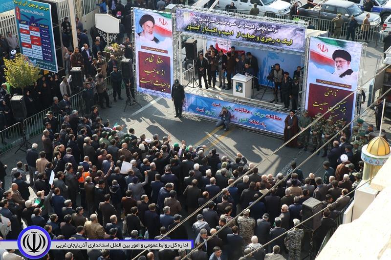 آلبوم تصویری / راهپیمایی لبیک به رهبری و حمایت از امنیت و اقتدار کشور – ارومیه