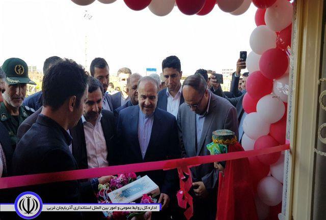افتتاح سالن تیراندازی شهدای خوی با حضور وزیر ورزش و جوانان