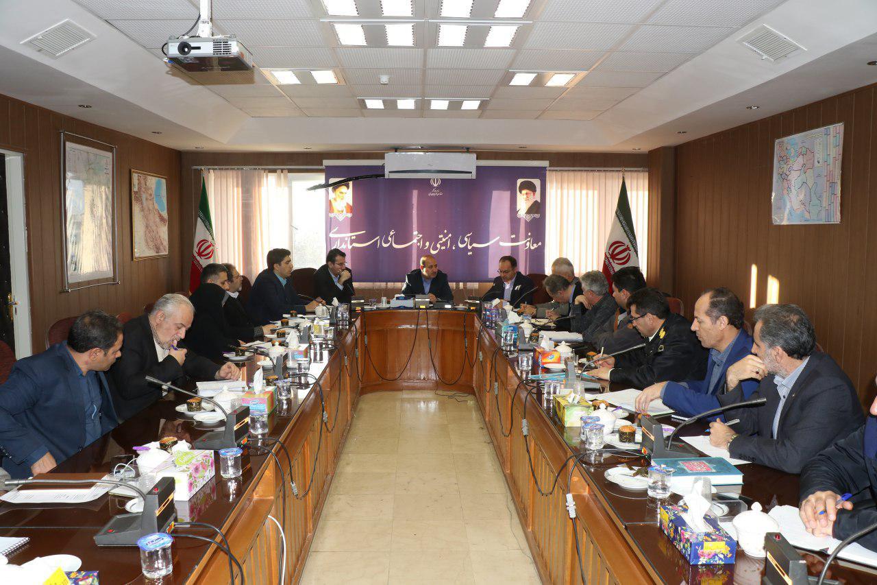 دومین جلسه ستاد ساماندهی متکدیان و کودکان کار و خیابانی استان به ریاست معاون سیاسی امنیتی و اجتماعی استاندار آذربایجان غربی