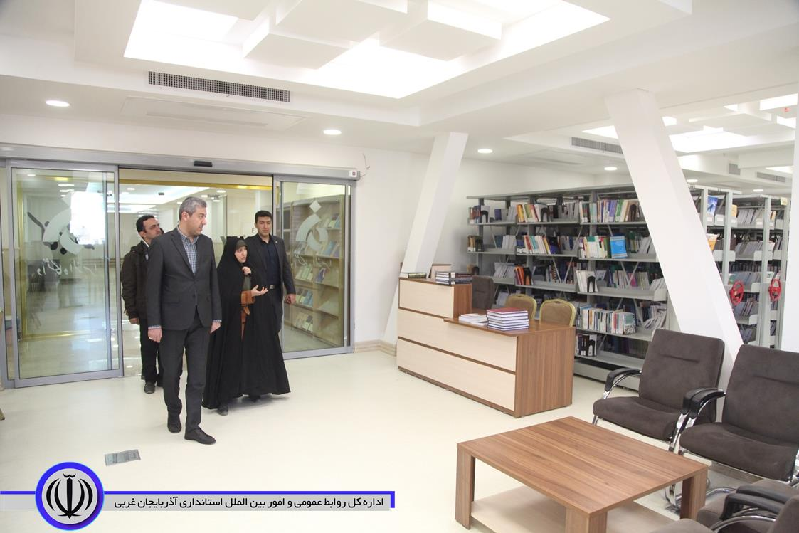 بازدید سرپرست معاونت هماهنگی امور عمرانی استانداری از دانشگاه الزهراء ارومیه