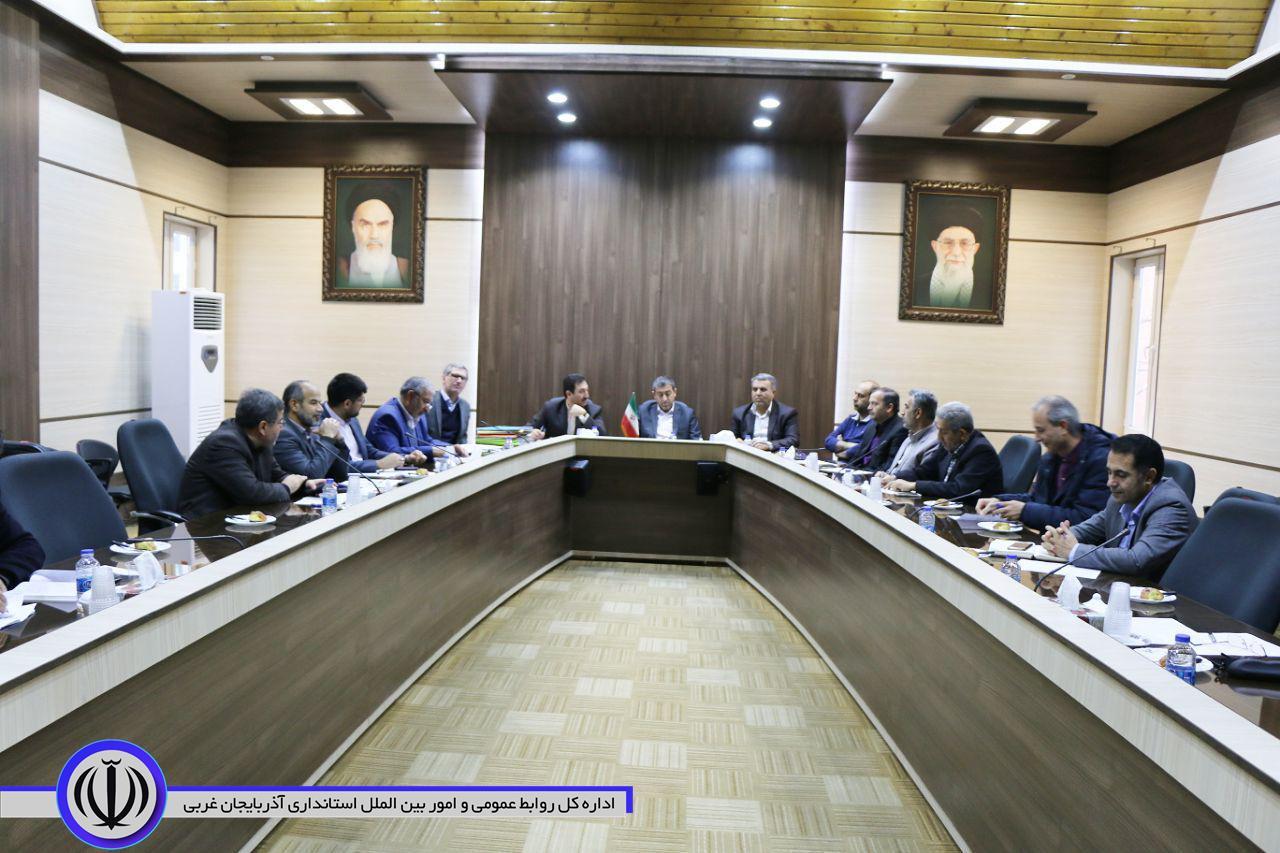 جلسه کارگروه تخصصی زیربنایی و شهرسازی استان
