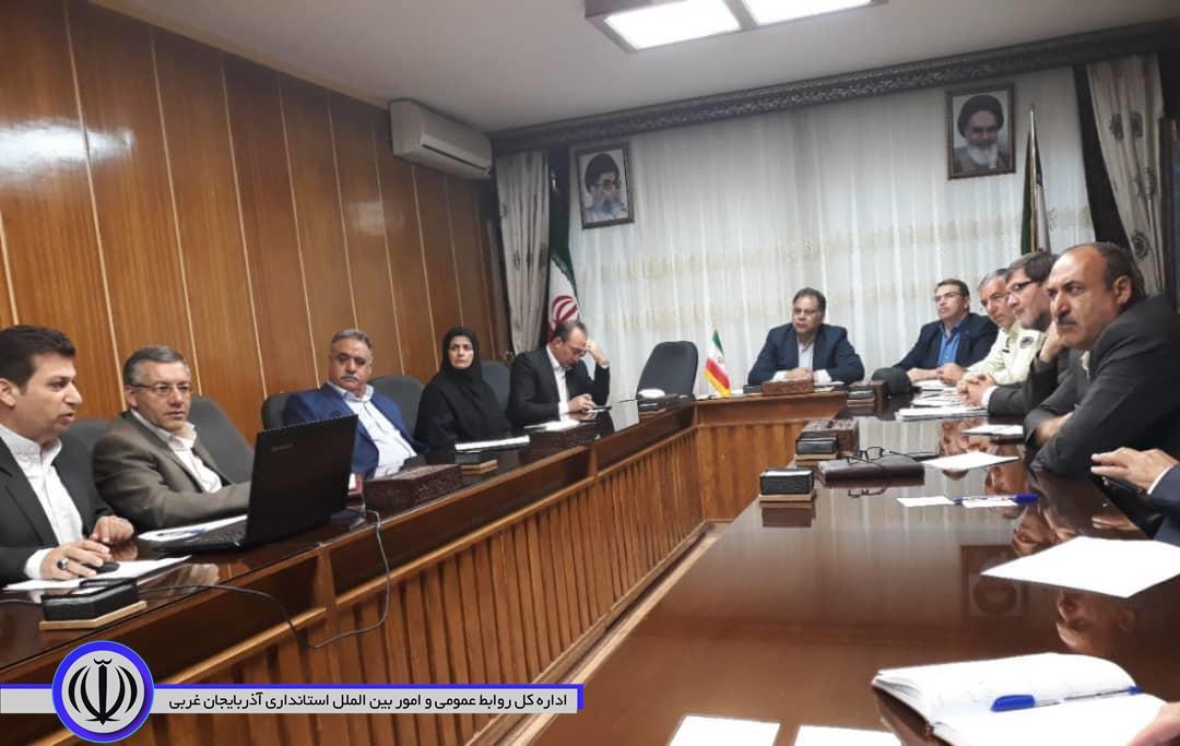 برگزاری جلسه ساماندهی مراکز خرید و فروش محصولات کشاورزی با حضور معاون  استاندار آذربایجان غربی