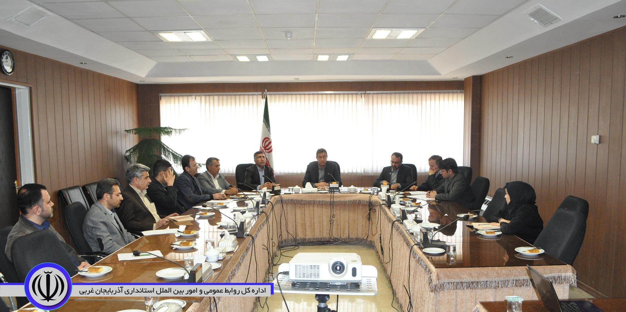 جلسه هماهنگی بررسی شاخص های ارزیابی دفاتر حوزه عمرانی استانداری