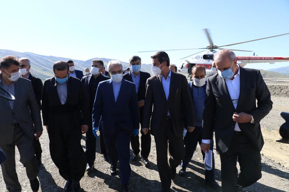 آلبوم تصویری / سفر معاونین رئیس جمهور به آذربایجان غربی برای بازدید از پروژه های احیای دریاچه ارومیه