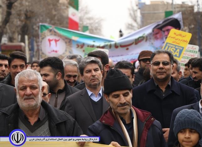 آلبوم تصویری/ راهپیمایی یوم الله 22 بهمن ارومیه ( شماره 1)