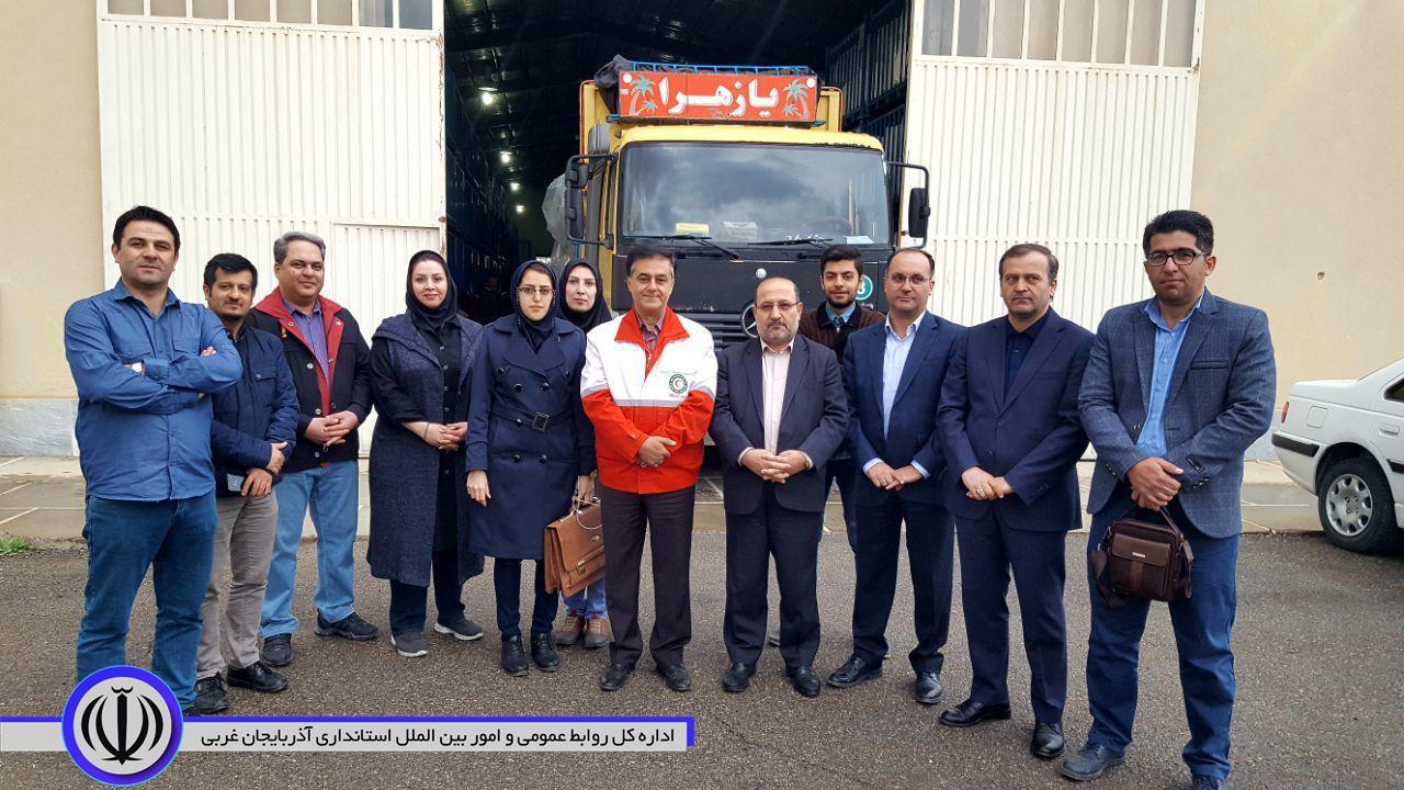ارسال۳ کامیون کمک های #پویش_انسانیت_۴ به پلدختر