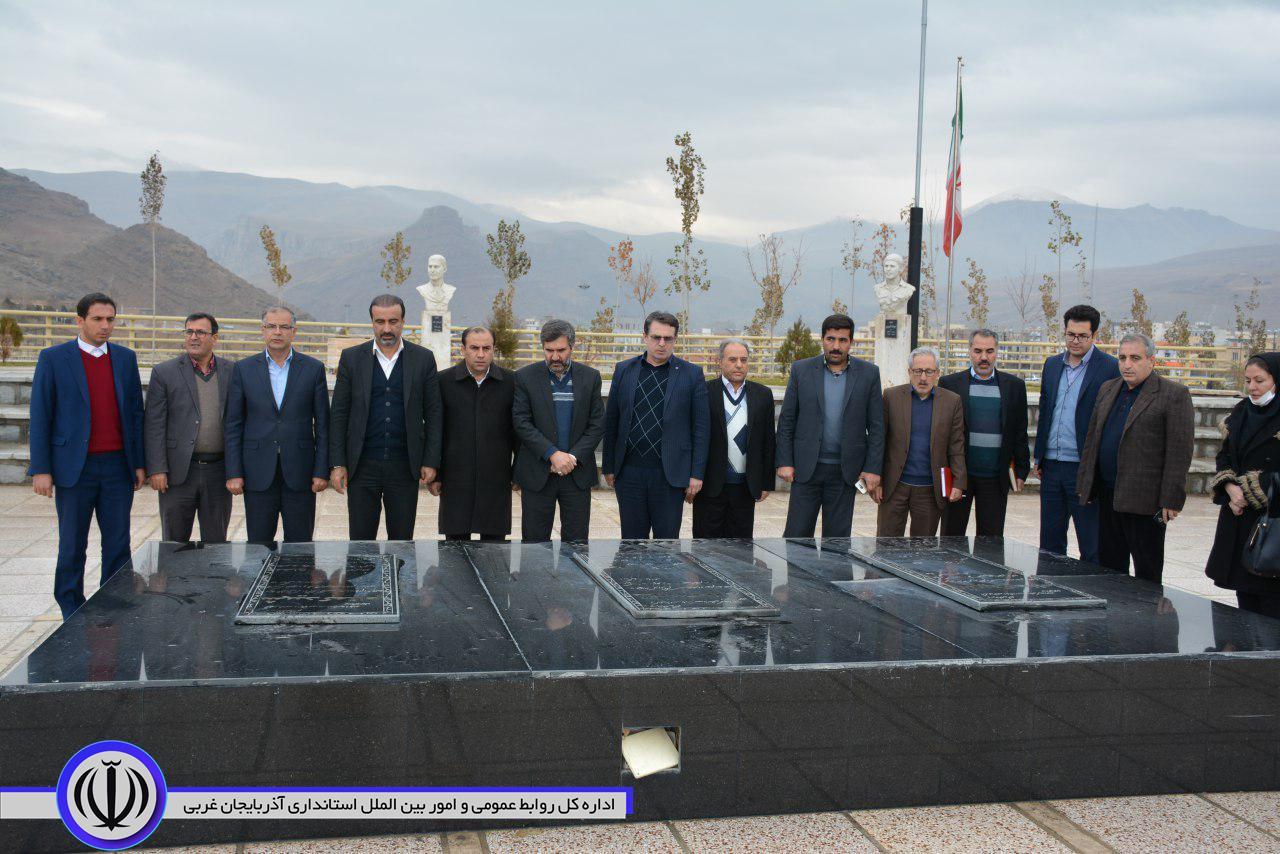 گزارش تصویری از سفر یکروزه معاون هماهنگی امور اقتصادی استانداری آذربایجان غربی به شهرستان ماکو